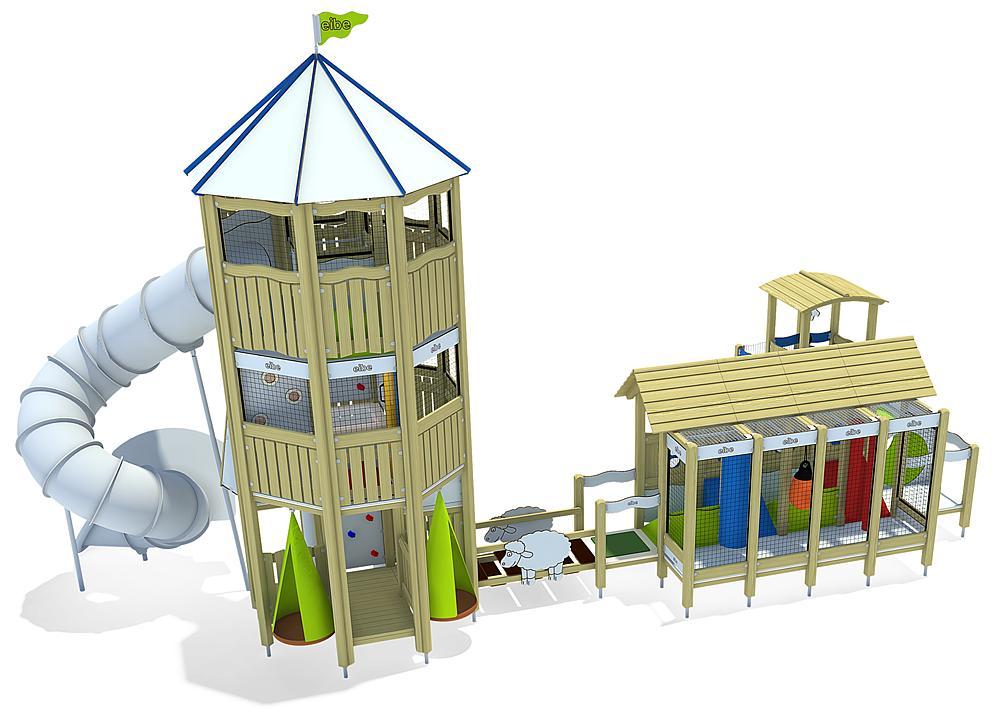 indoor play unit Farm
