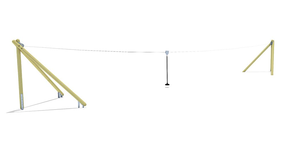 aerial cableway Montana 20 m for hill installation