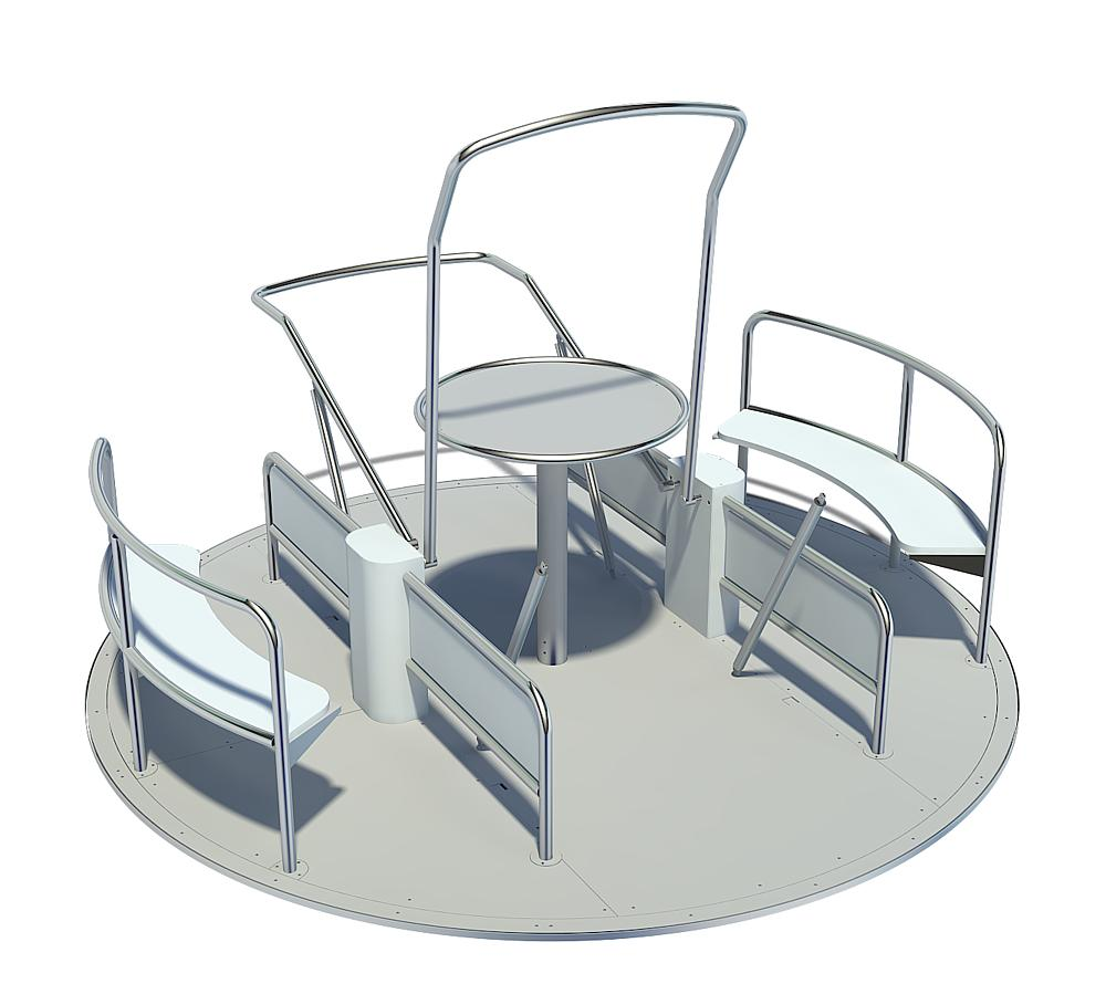 Integration carousel