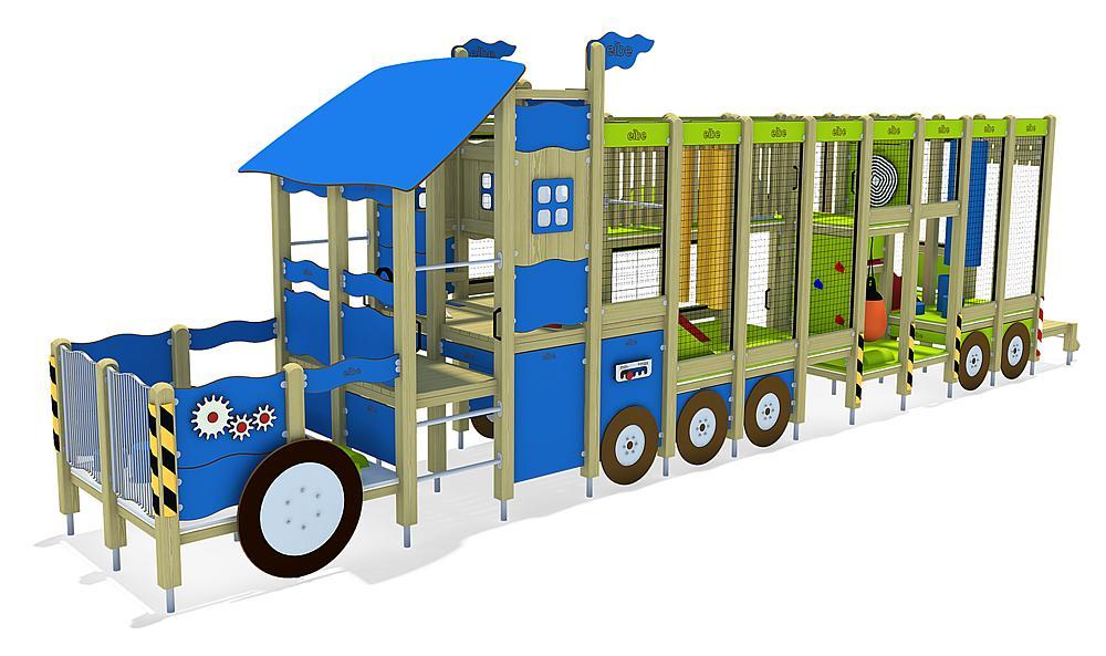 indoor play unit Semi-Trailer