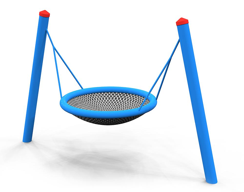 swing Daisy with nest seat