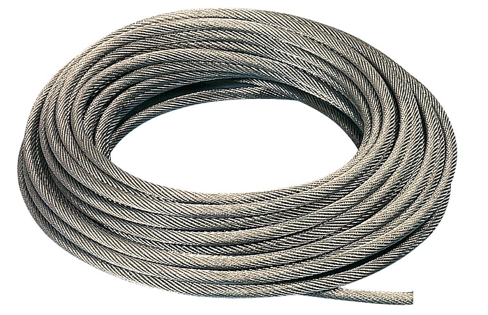 Track cable for cableway system