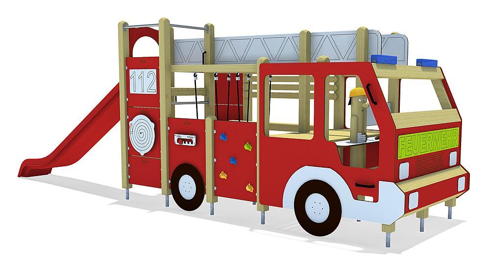 Camion de pompiers, solo