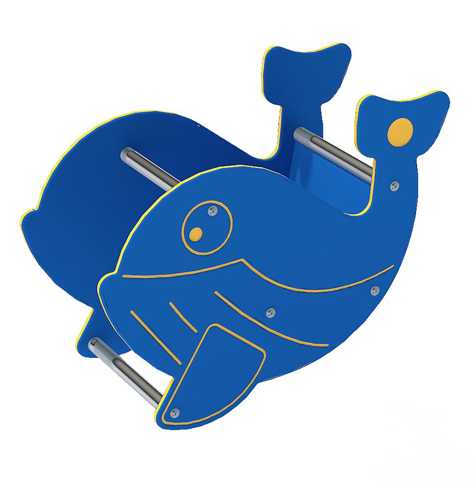 Spring rocker body Whale without spring