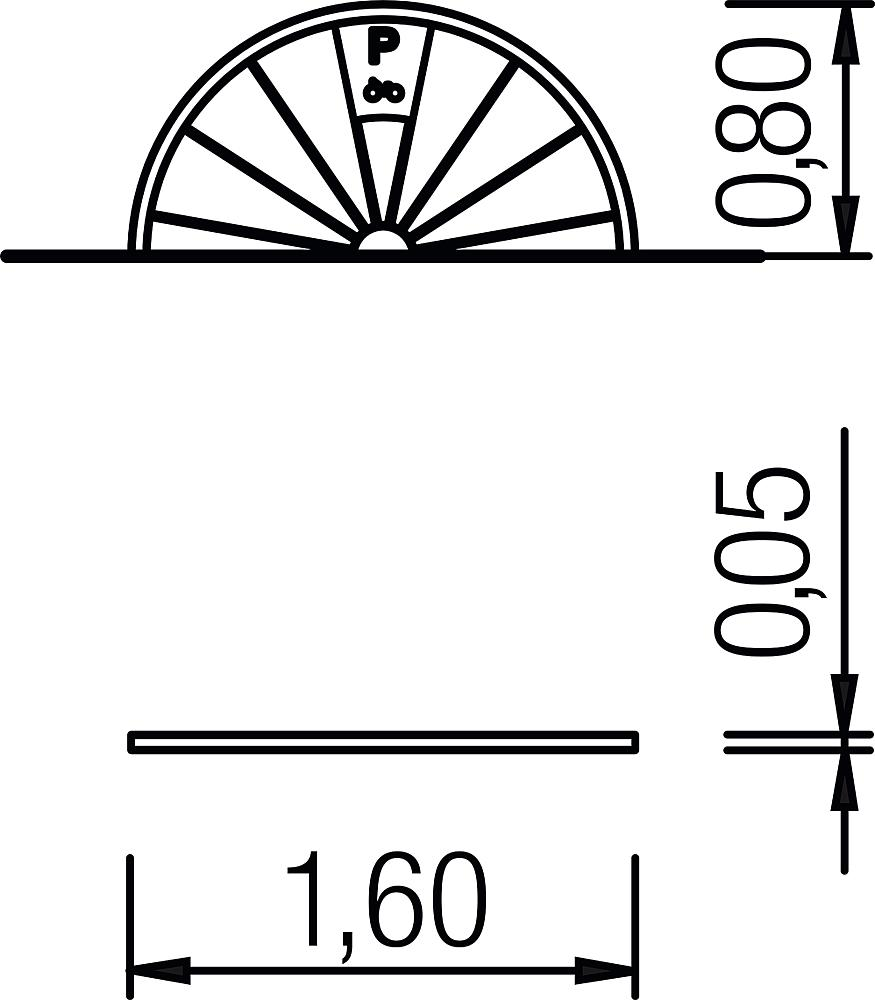 Bicycle stand Wheel