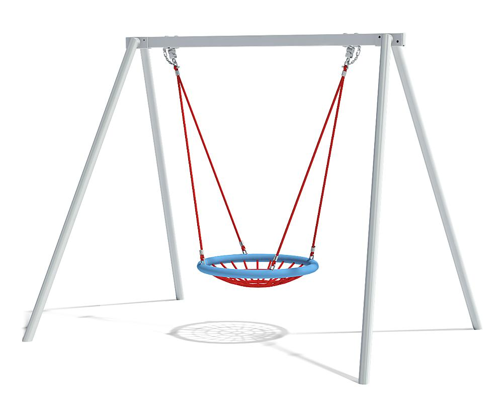 double swing with nest seat Ø 100 cm