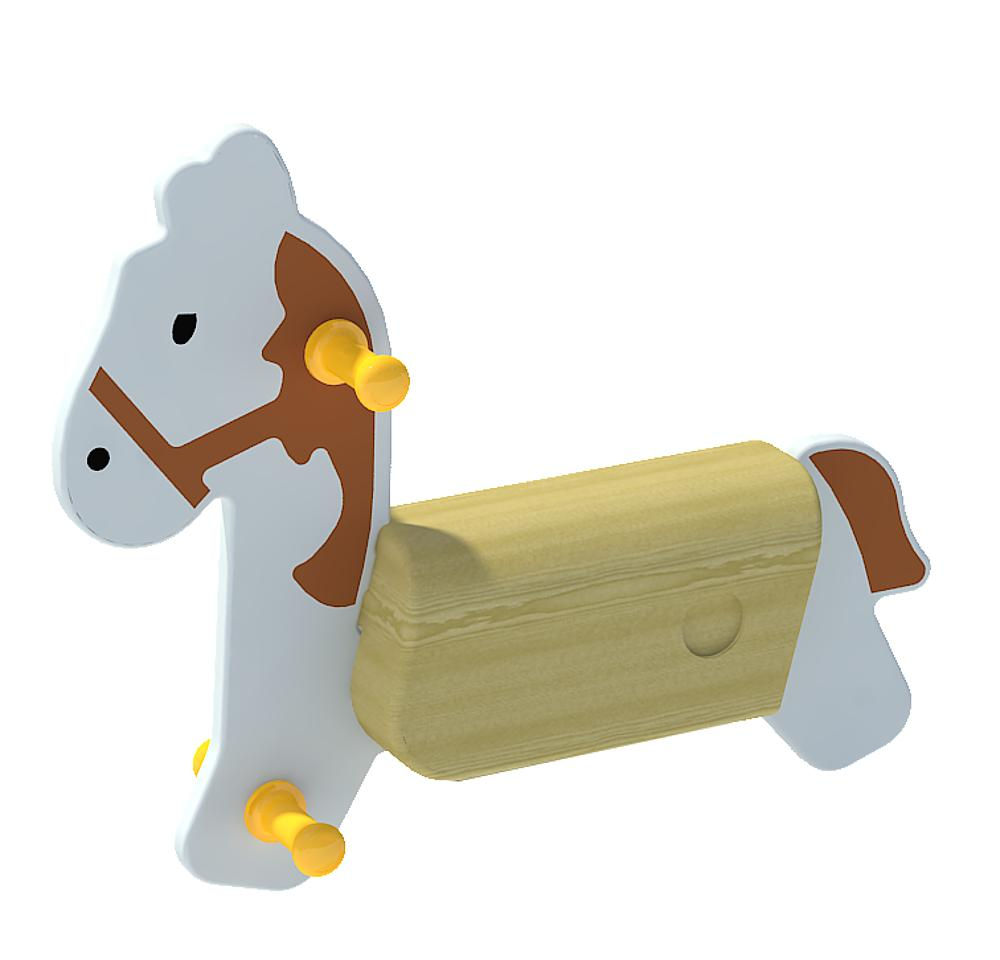 Spring rocker body Horse without spring