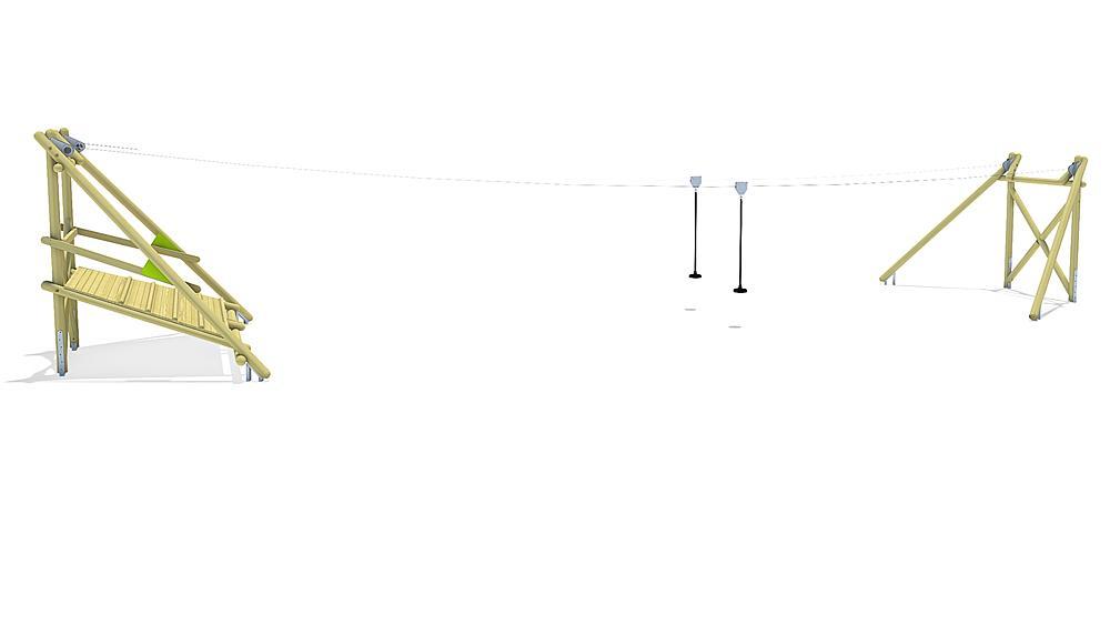 aerial cableway Sierra Duo 20 m