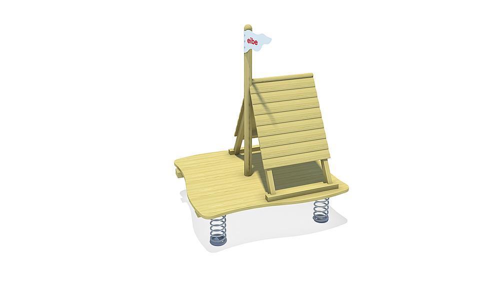 multi-spring rocker Sand raft