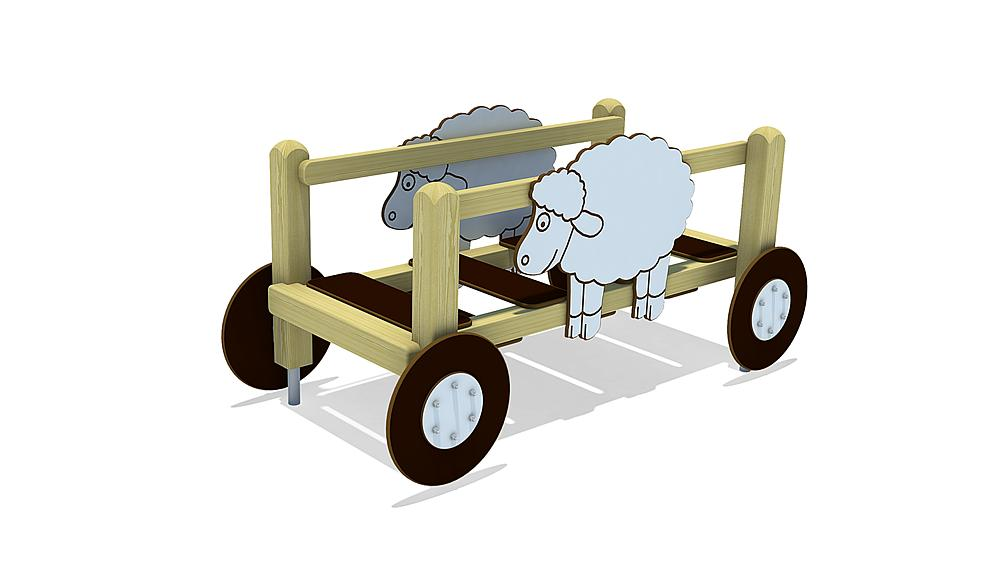 hay wagon Lukas