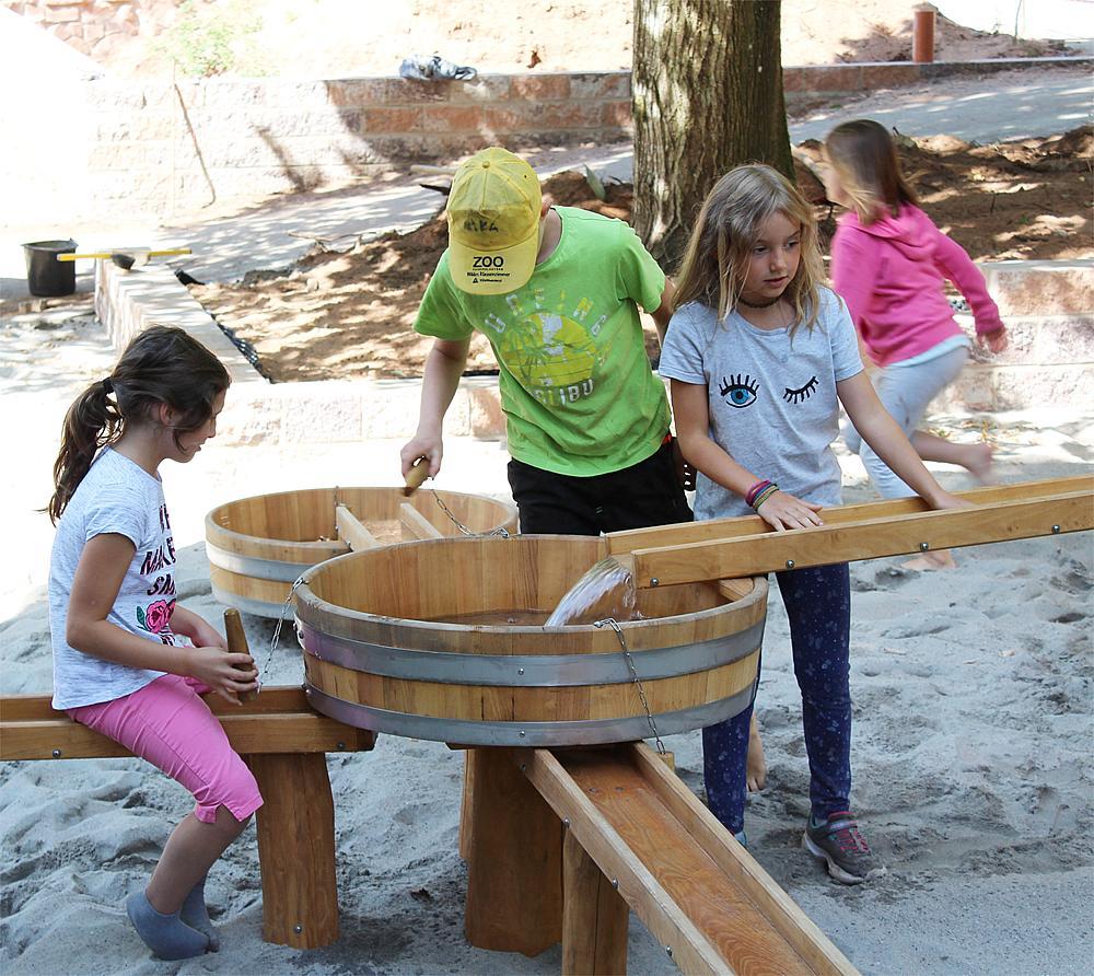 sand construction site Albida