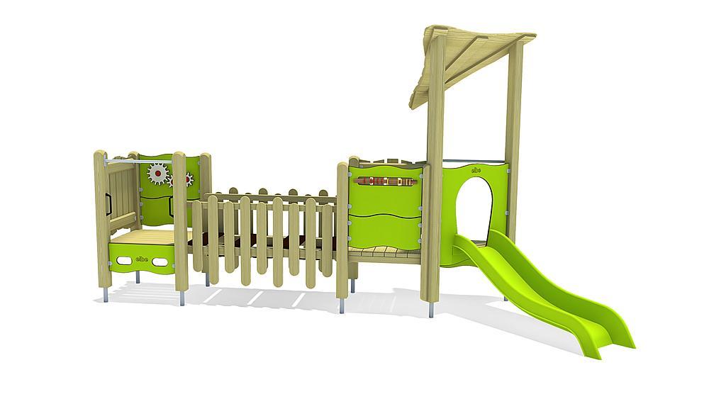 Structure ludique Hagen, solo