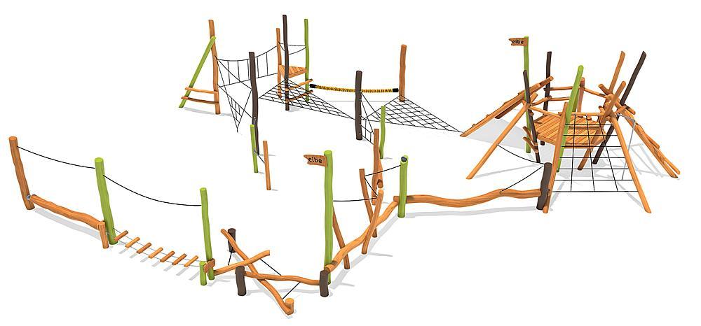 Structure ludique Duin
