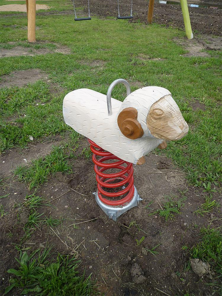 spring rocker Sheep