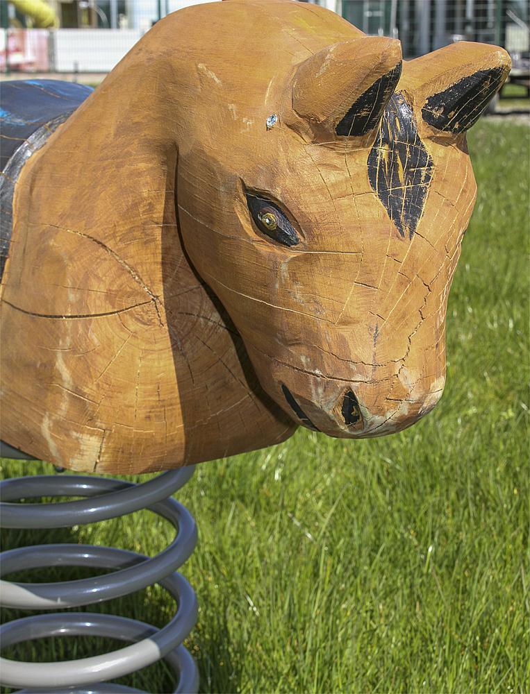 spring rocker Pony