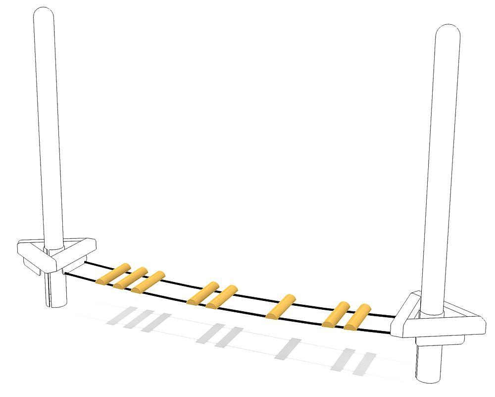 suspension bridge M2