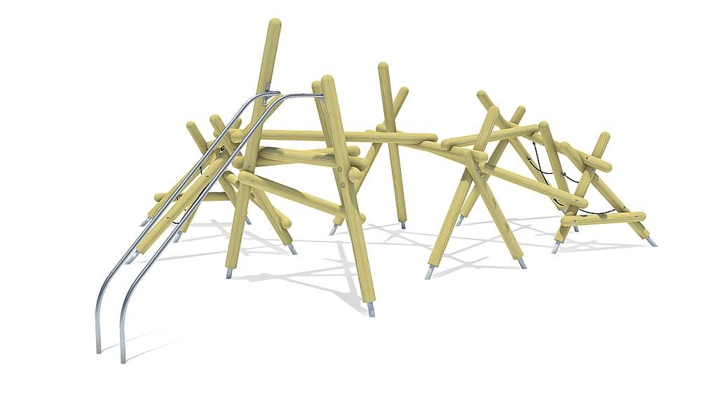 """Grande structure d""""escalade Yurika"""