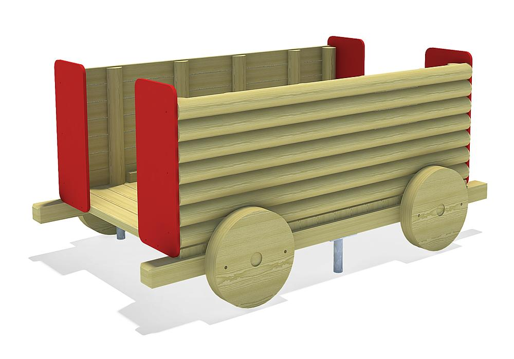 large train Tender