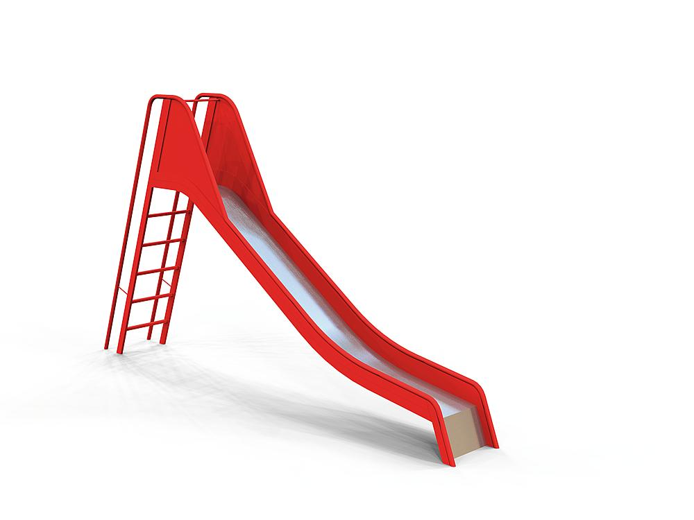 Slide with ladder stainless steel, ph 150 cm
