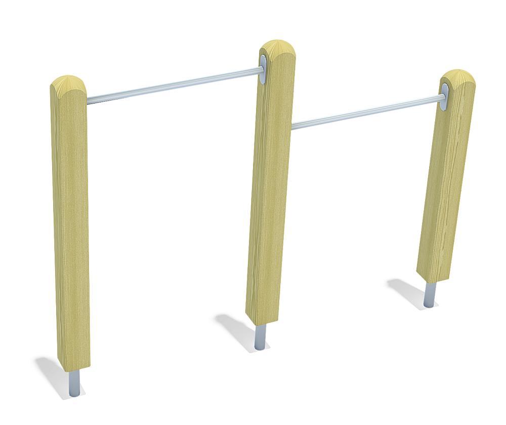 two-level horizontal bars Theo