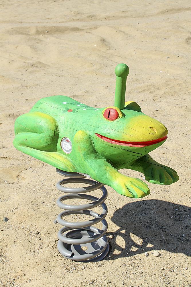spring rocker Frog