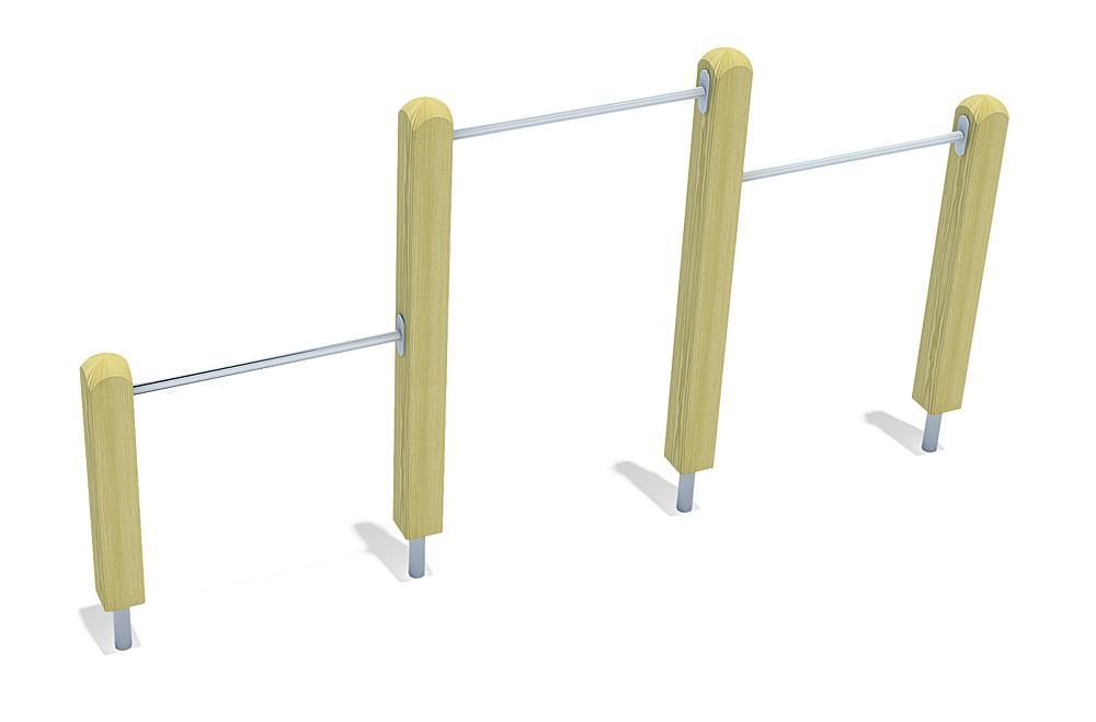 tri-level horizontal bars Anton