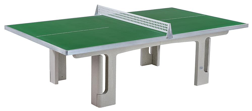 Table tennis unit Outdoor green