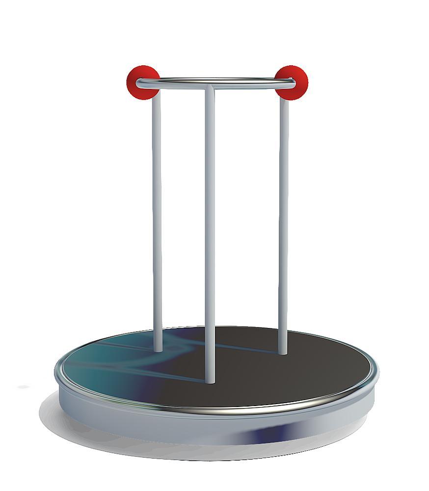 Stand-up roundabout Uranus Ø 115 cm