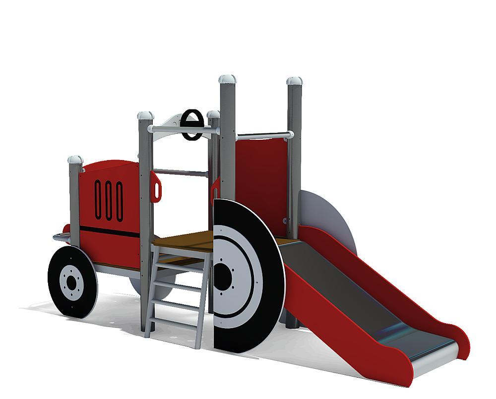 Structure ludique Tracteur
