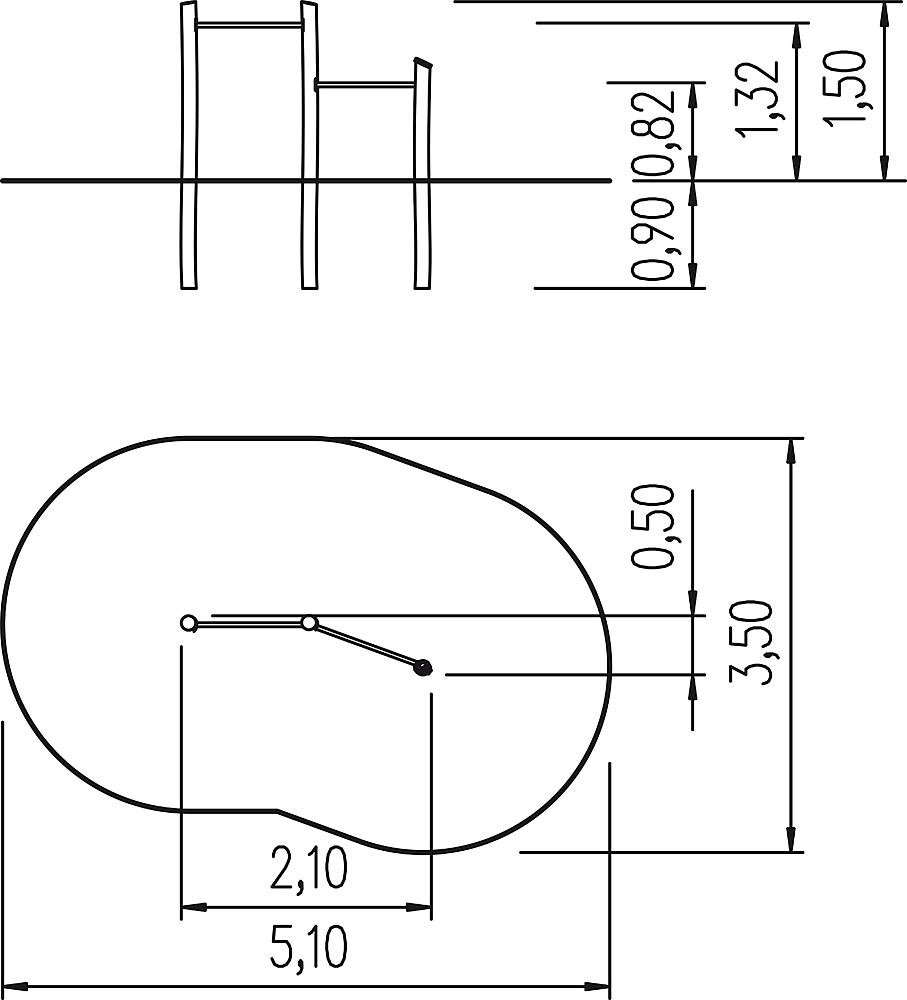 two-level bars Albin