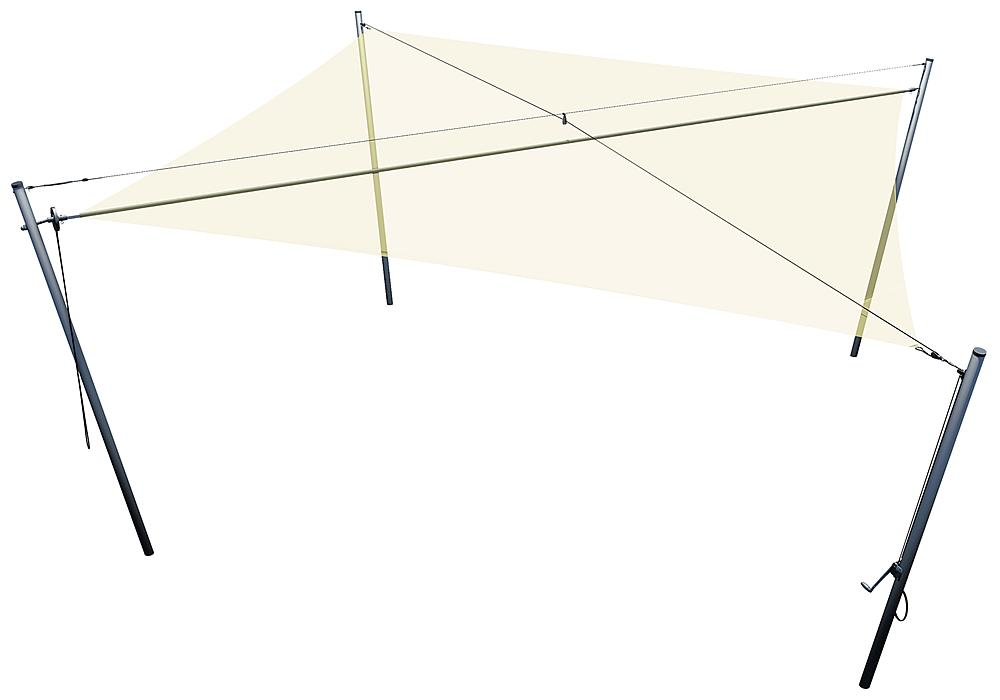 Awning square 6x6 m
