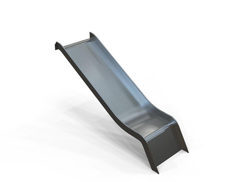 Add-on slide wide stainless steel, ph 145 cm