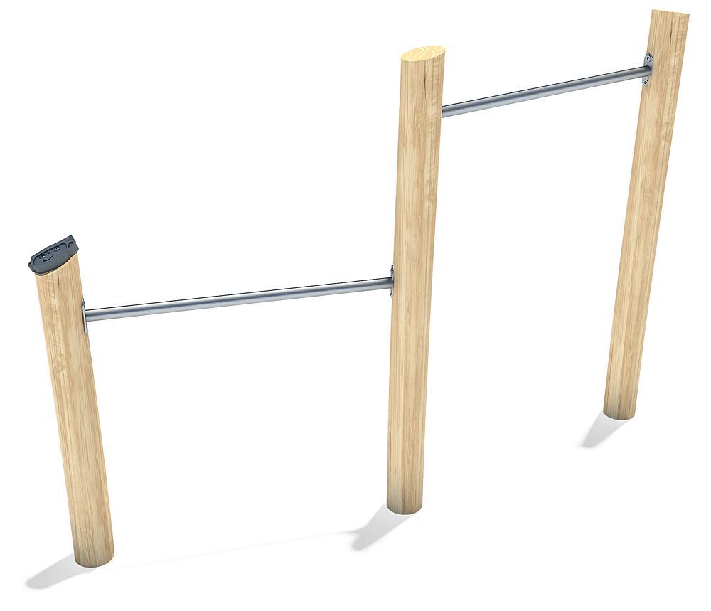 Barre fixe à deux niveau Albin