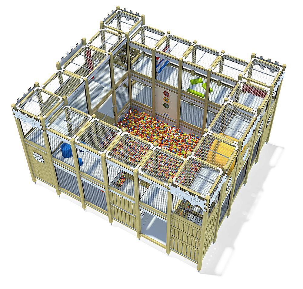 indoor play unit Castle