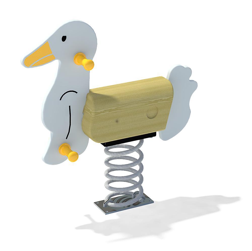 Spring rocker Goose
