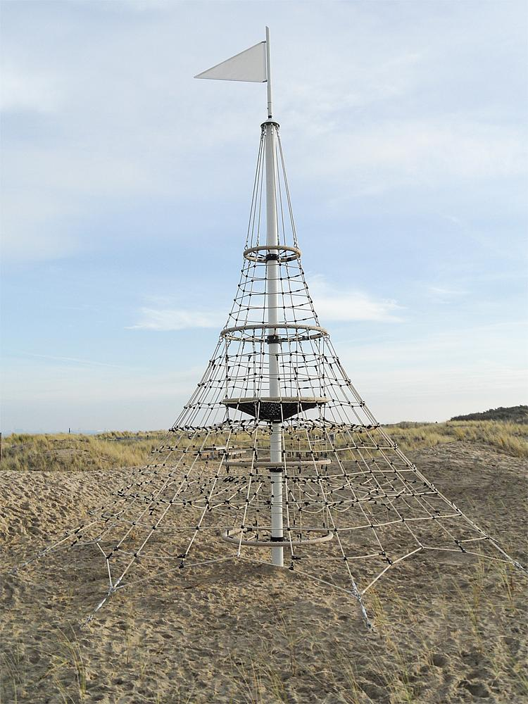 Rope net pyramid XXL