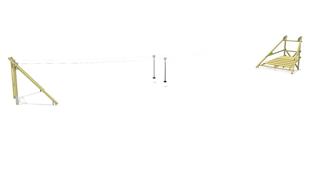 Tyrolienne Sierra Duo 30 m