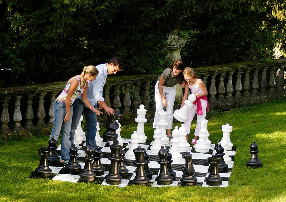 Chess pieces, outdoor