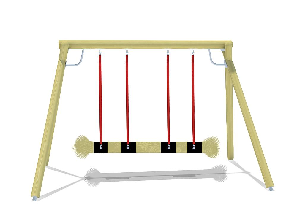 double swing Eagle with nest seat