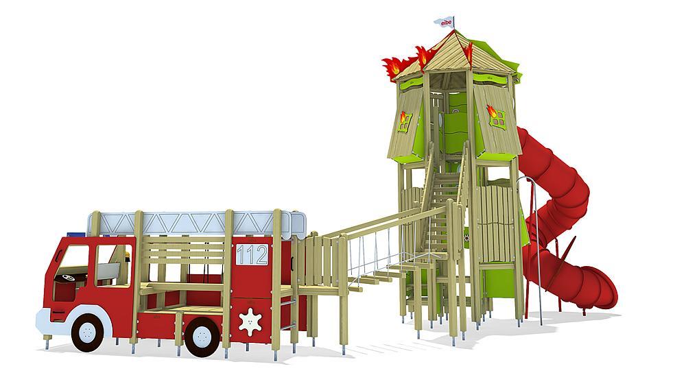 Combinaison pompiers, solo