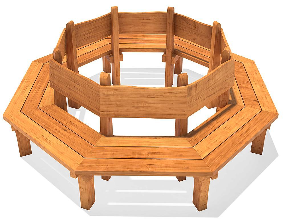 tree bench Badun