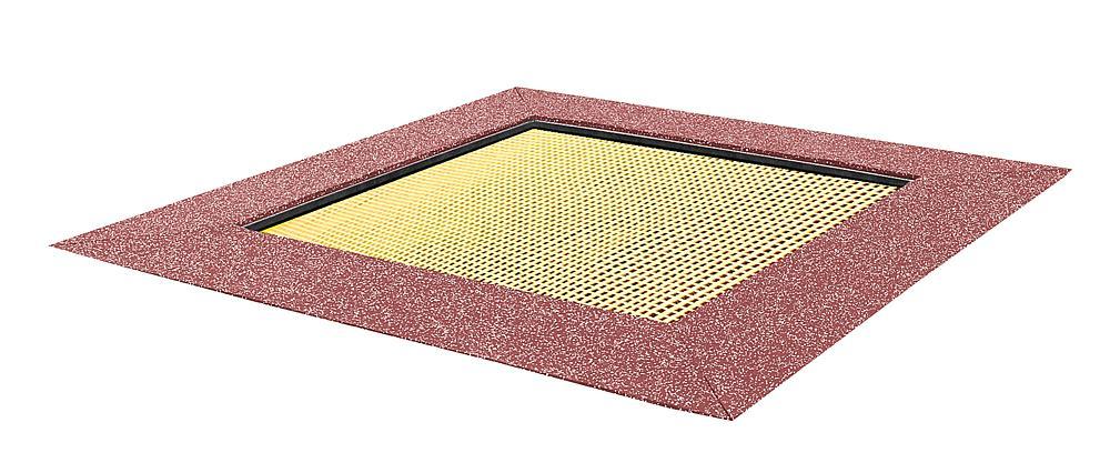 Floor trampoline Kids Tramp Kindergarten 150x150 cm