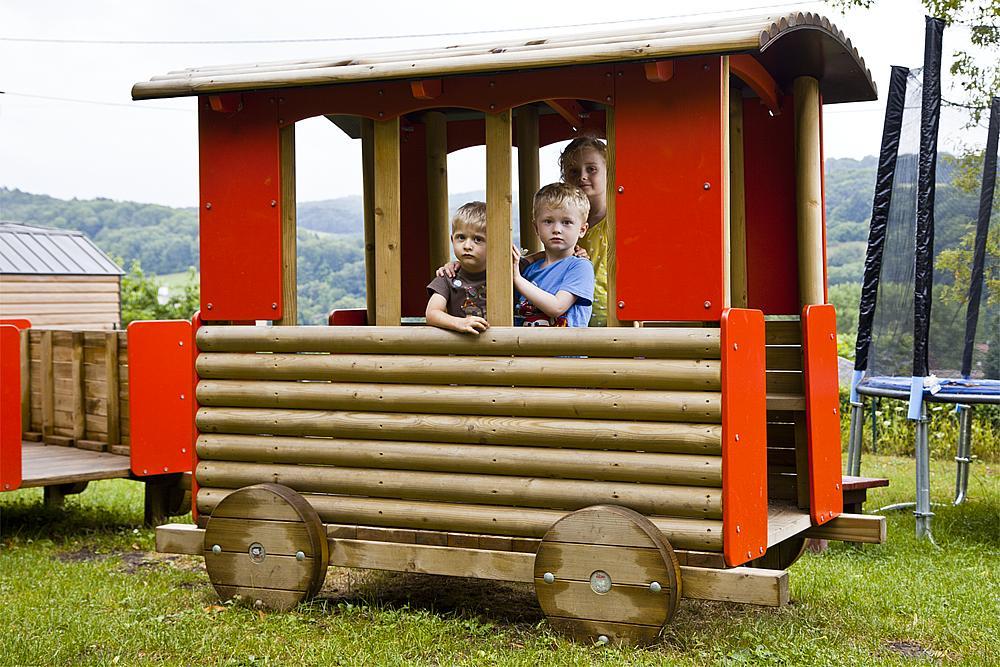 large train Wagon
