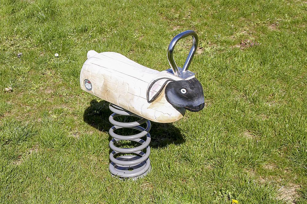 spring rocker Lamb