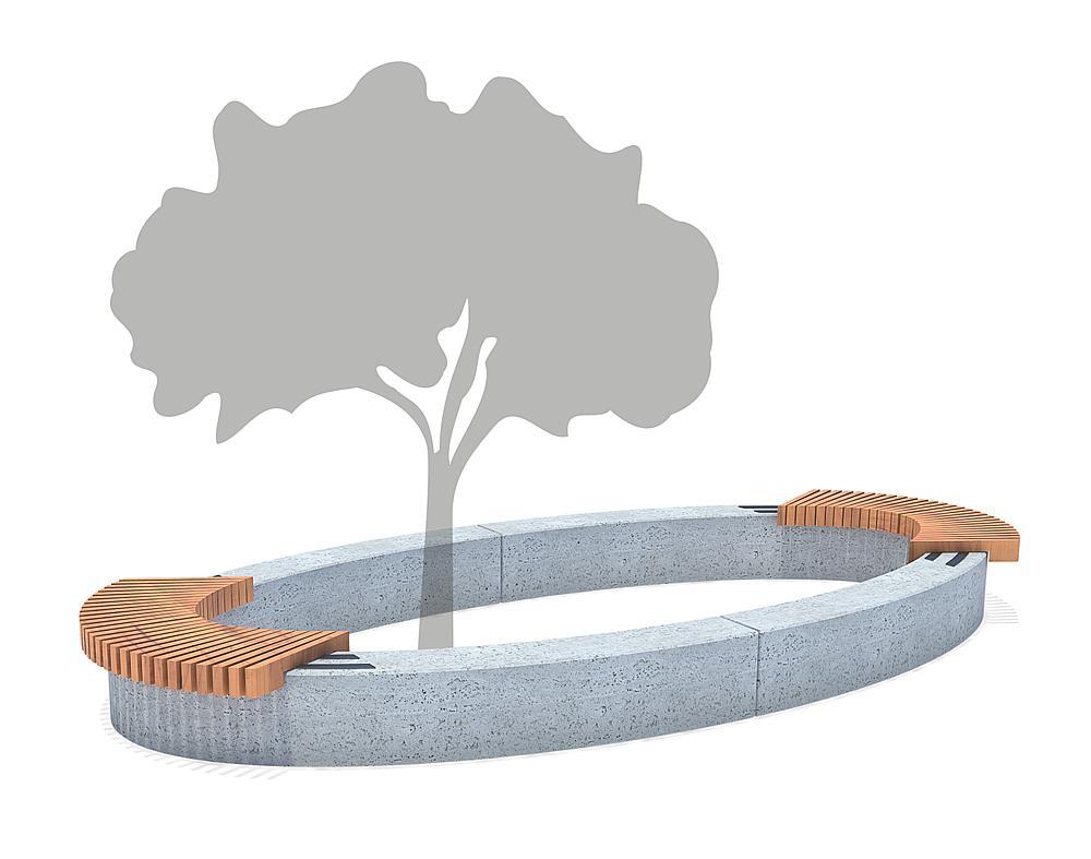 Seating ensemble Ficus